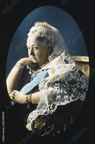 Fotografie, Obraz Queen Victoria. Date: 1819 - 1901