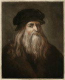 Da Vinci - Self - London. Date: 1452 - 1519 - 162299093