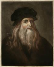 Da Vinci - Self - London. Date: 1452 - 1519
