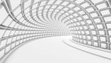 Fototapeta Perspektywa 3d - Abstract Tunnel 3d Background