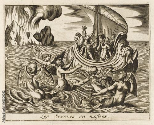 Stampa su Tela Myth - Mythology - The Sirens