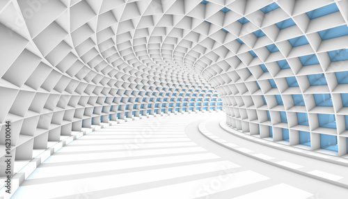 Abstract Tunnel 3d Background