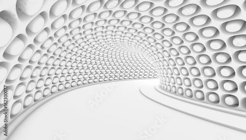 Fototapeta Abstract Tunnel 3d Background