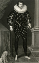 Russell Of Thornhaugh. Date: 1558 - 1613