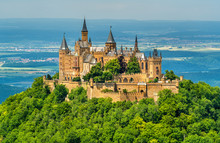 Hohenzollern Castle In The Swabian Alps - Baden-Wurttemberg, Germany