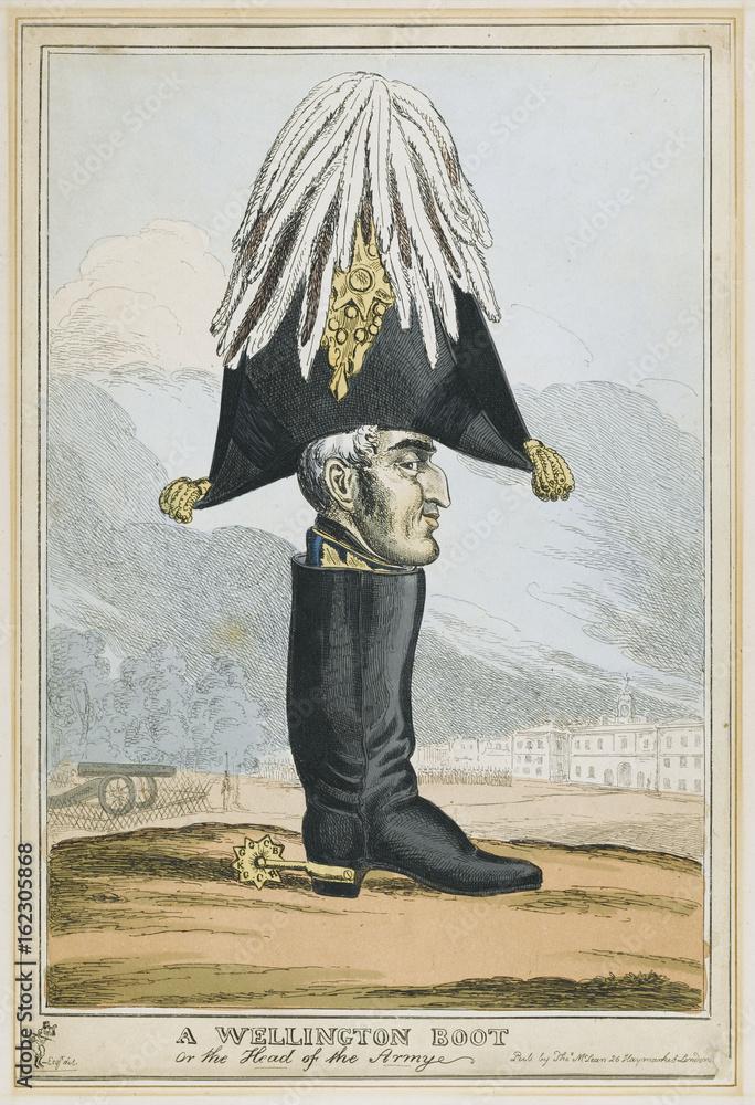 Photo Art Print Duke Of Wellington Wellington Boot Satire