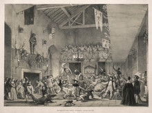 Party At Haddon Hall. Date: 16th Century
