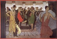A Montmartre 'Dancing'. Date: ...