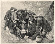 Gold Prospectors - Canada. Date: 1904