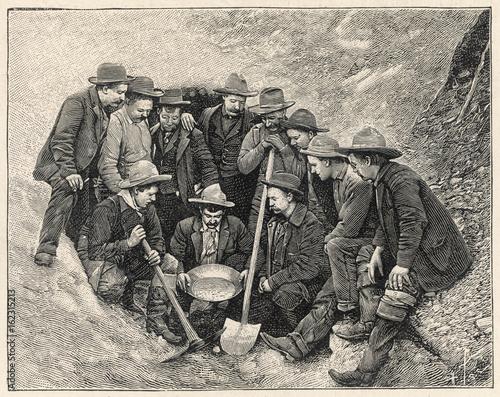 Foto  Gold Prospectors - Canada. Date: 1904