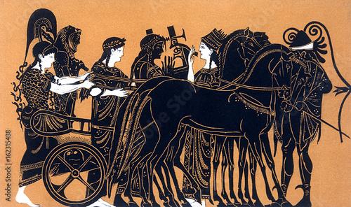 Herakles - Apotheosis Canvas Print