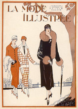 Fur Fashions Of 1924. Date: 1924