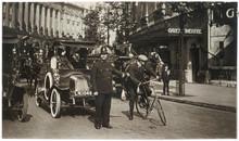 Traffic Policeman. Date: Circa 1903