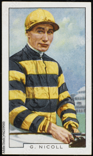 Photo Jockey - George Nicoll 20th century. Date: 20th century