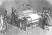 Taylor's Calico Loom. Date: 1862