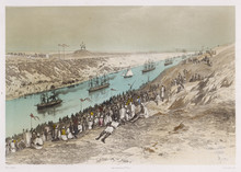 Opening Of The Suez Canal. Dat...