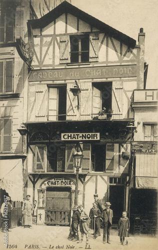 Le Chat Noir - 1905. Date: circa 1905 Canvas Print
