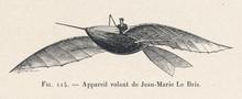 Le Bris' 1856 Project. Date: 1856