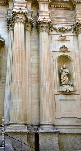 Poster Monument Santa Teresa Church Lecce