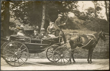 Family Carriage Outing. Date: ...