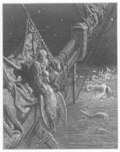 Mariner  Watersnakes. Date: 1798