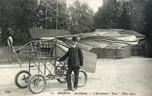 Vuia Monoplane. Date: 1906