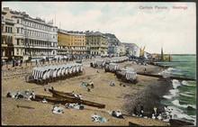 Hastings Beach. Date: Circa 1905
