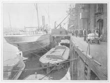 Cotton's Wharf  London. Date: 1900