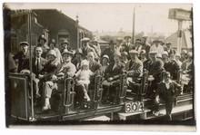 Tram At Blackpool. Date: 1926