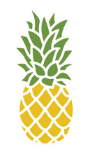 Pineapple Silhouette. Trendy T...