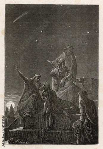 Astronomer-priests. Date: BC Poster Mural XXL