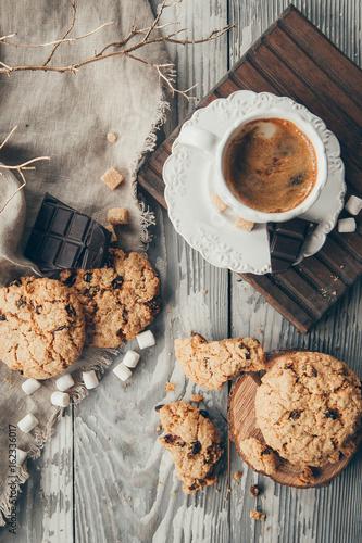 Fotobehang Koekjes desserts