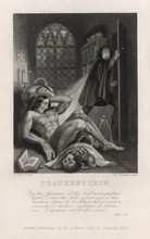 Frontispiece Illustration From Frankenstein. Date: First Published 1818