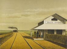 Javanese Railway Stn. Date: 1883