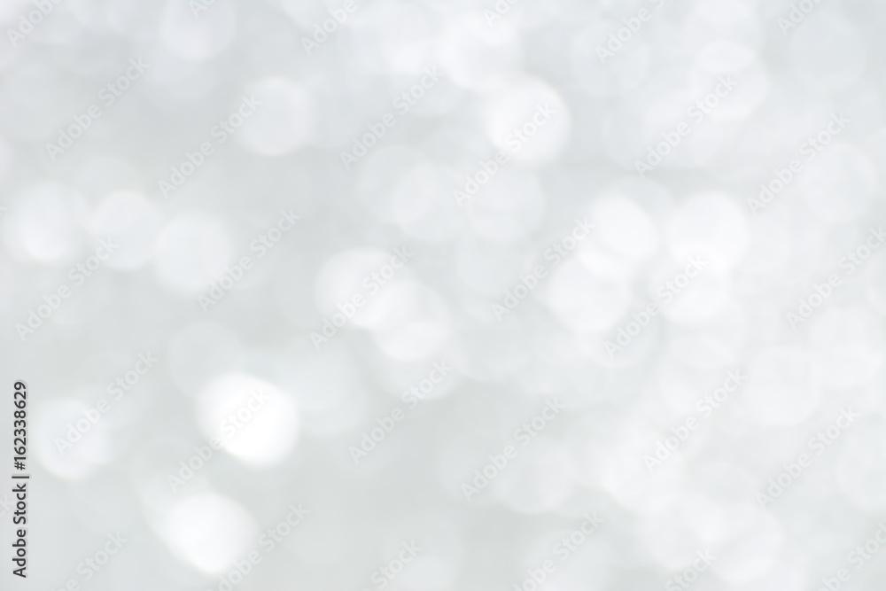 Fototapety, obrazy: White bokeh abstract background