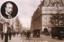 Ritz Hotel 1910. Date: Circa 1910