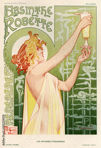 Absinthe Poster. Date: 1896 Poster