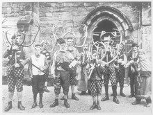 Customs - Horn Dance. Date: Early 20th Century