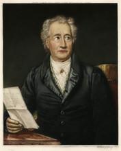 Johann Wolfgang Von Goethe. Date: 1749 - 1832