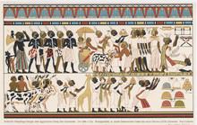 Nubians In Ancient Egypt. Date: 1570 - 1293 BC