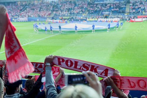 Plakat Polscy kibice
