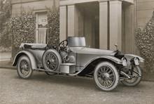 Rolls Royce Tourer. Date: 1914