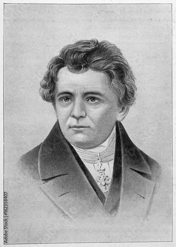 Cuadros en Lienzo Georg Simon Ohm  German physicist. Date: 1789 - 1854