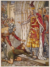 King Arthur With Owain
