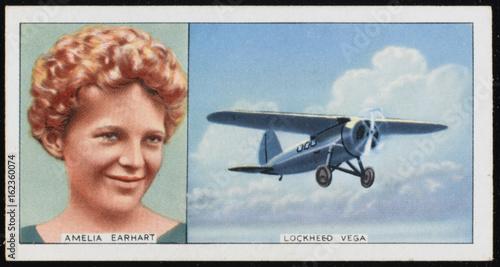 Fotografie, Obraz Earhart - Lockheed Vega. Date: 1897 - 1937