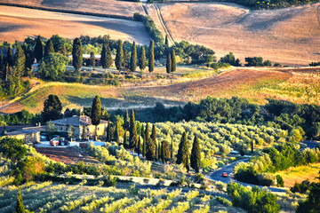 FototapetaLandscape view of Val d'Orcia, Tuscany, Italy
