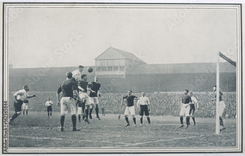 England V Scotland. Date: 1903 Wallpaper Mural