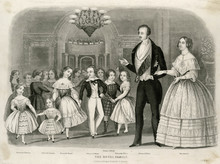 Queen Victoria. Date: Circa 1849