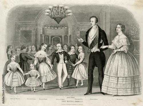 Obraz na płótnie Queen Victoria. Date: circa 1849