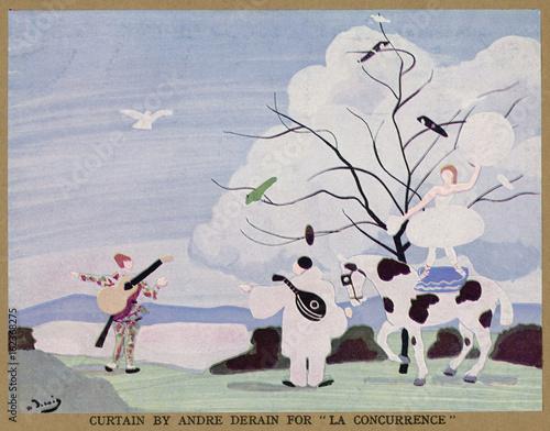 Ballet Russes - La Concura. Date: 1936 Wallpaper Mural